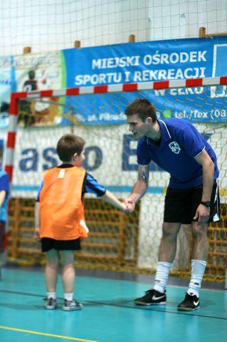 Trener piłki nożnej