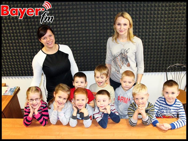 """Medialne """"Koniczynki"""" – czyli przedszkolaki w Bayer FM"""