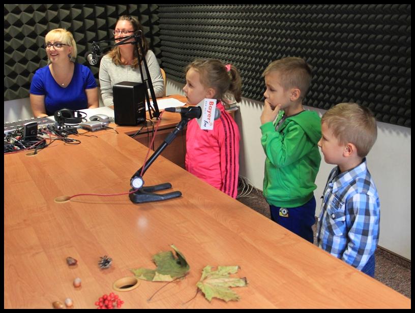 Wizyta przedszkolaków w radio Bayer Fm.