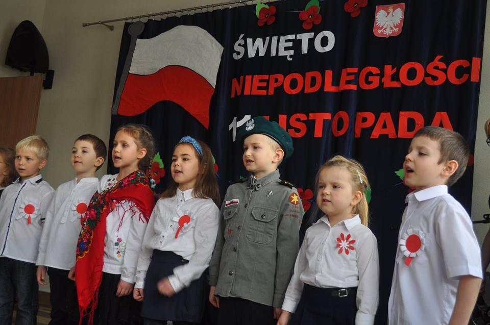 Uroczystość Narodowego Święta Niepodległości.