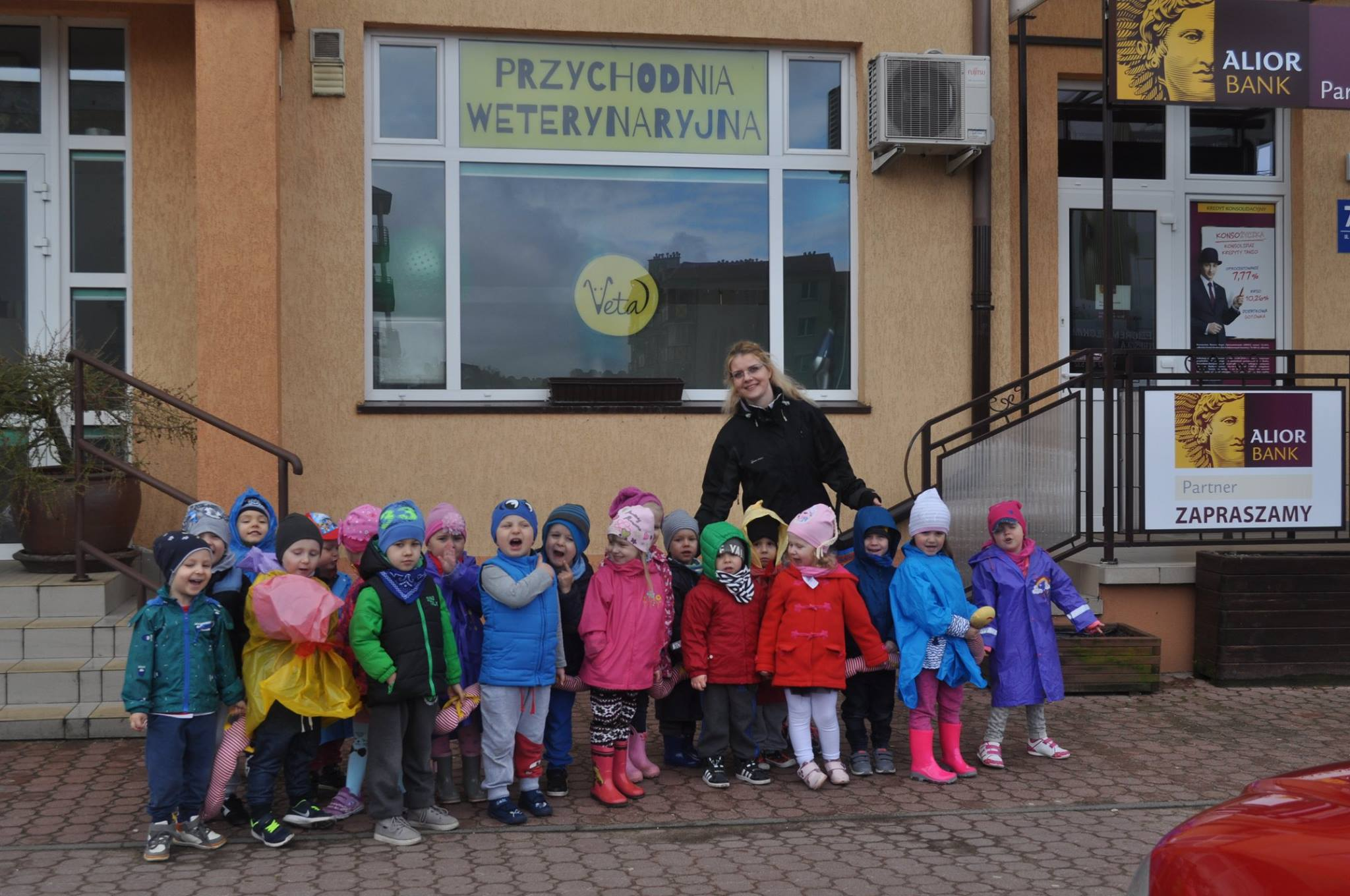 Przedszkolaki z wizytą u weterynarza