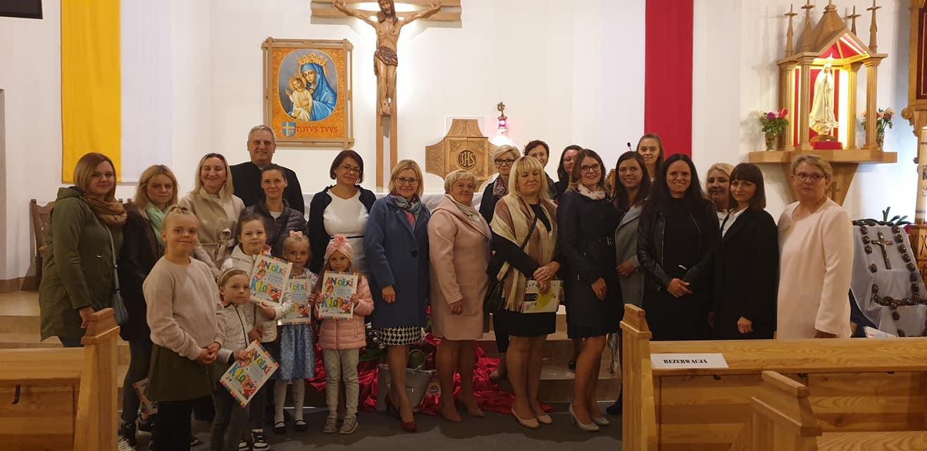 """5-lecie Niepublicznego Katolickiego Przedszkola """"U Lolka"""" im. św. Jana Pawła II w Ełku"""